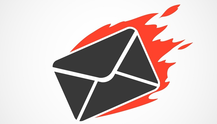 mail to burn